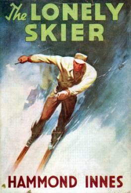 Одинокий лыжник